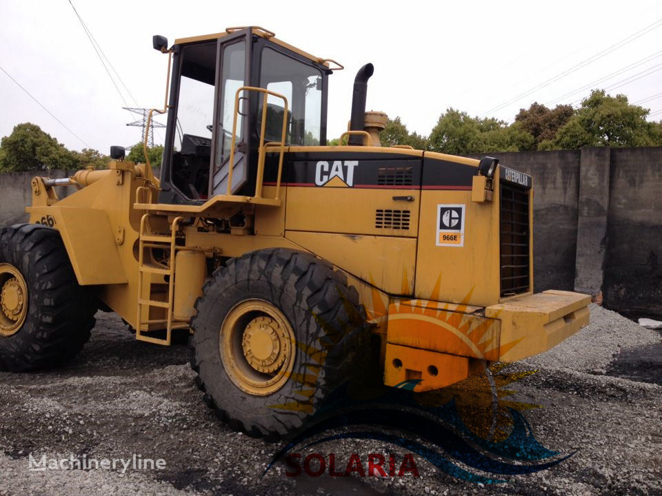 Caterpillar 966 forklift - Etp coin ico houston