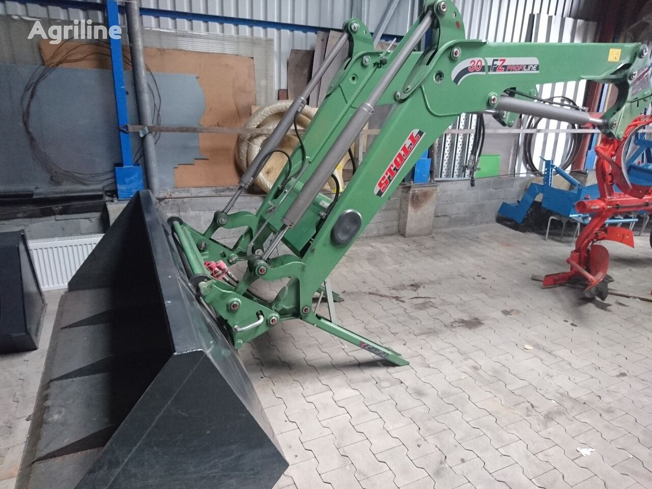 STOLL 30 FZ PROFILINE front loader