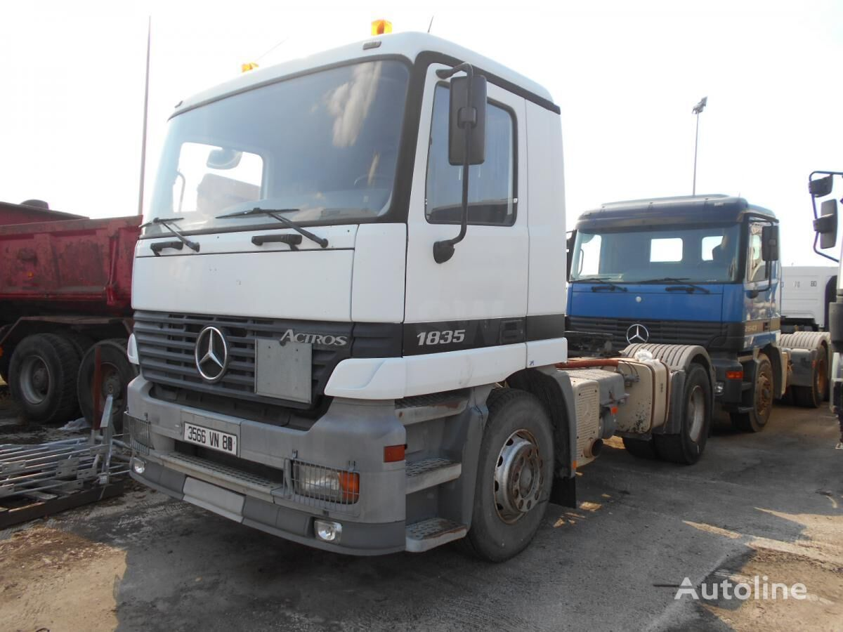 Mercedes benz actros 1835 tractor units for sale truck for Mercedes benz actros for sale