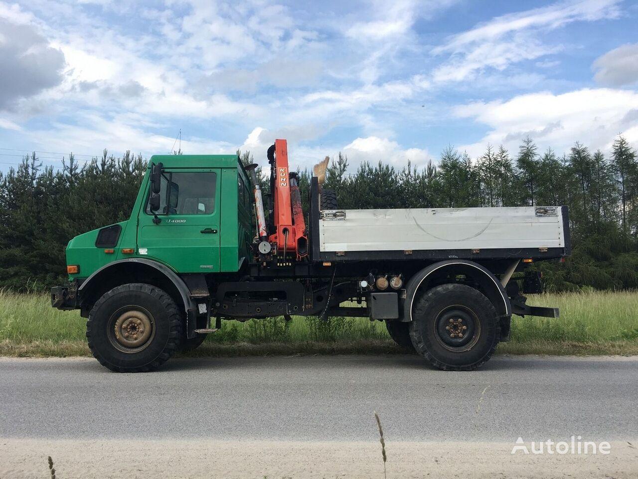Mercedes benz unimog u 4000 palfinger pk6500a hds uraw for Mercedes benz 4x4 truck