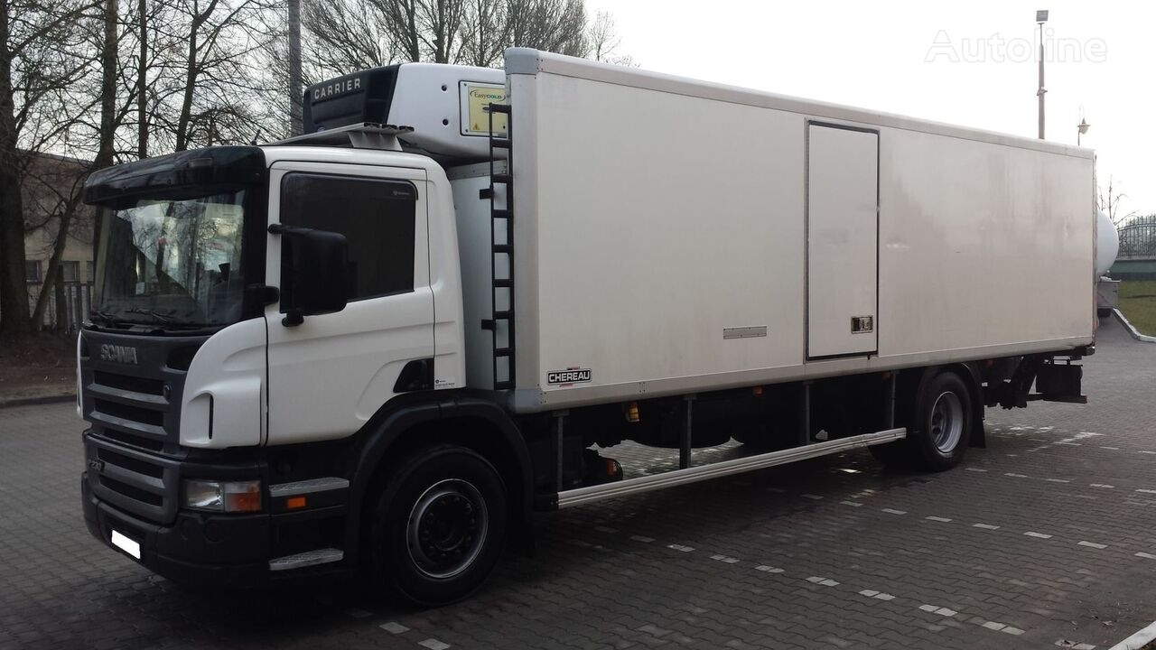 SCANIA P230 Chłodnia 21EP 213551km !!! + winda + kamera cofania  refrigerated truck